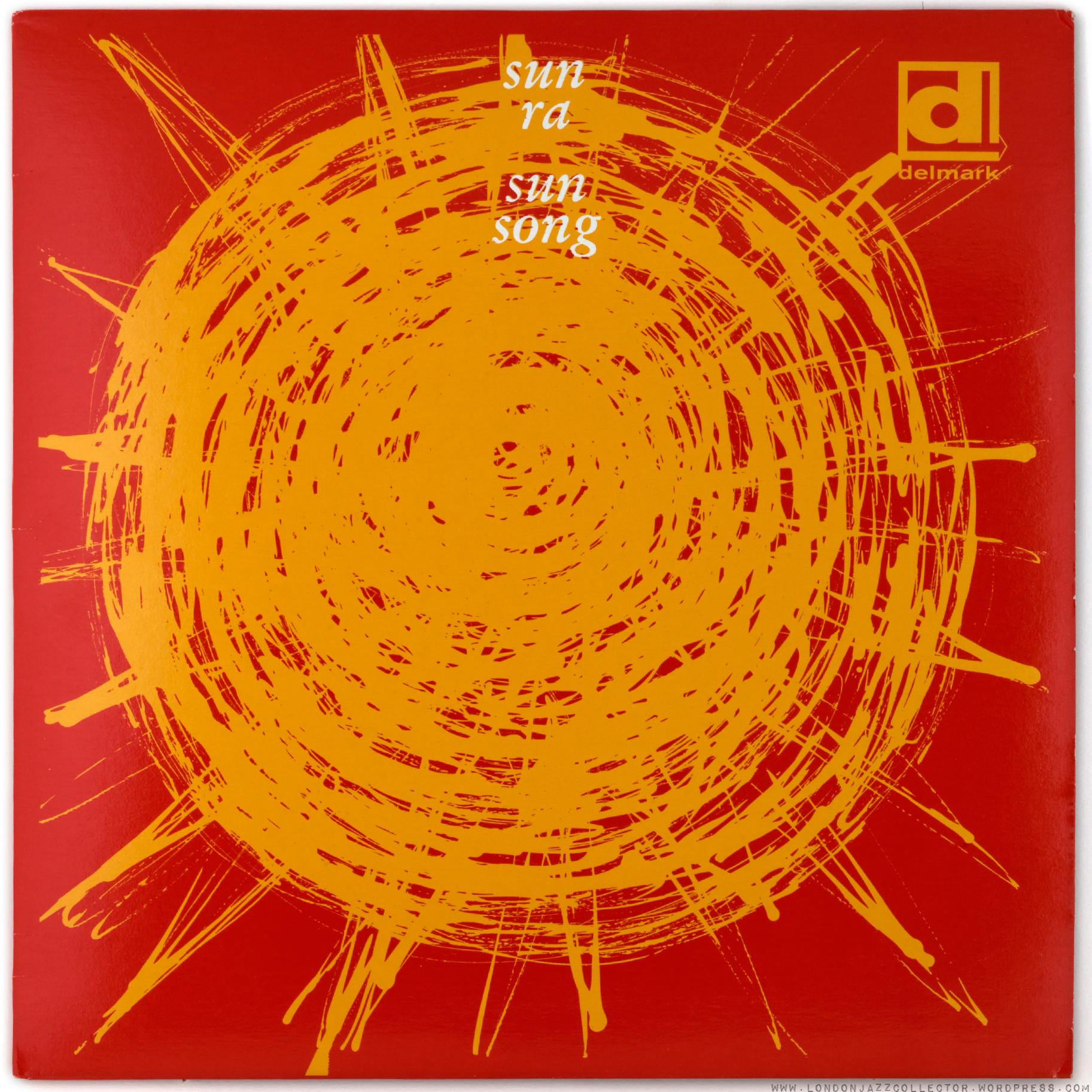 Sun Ra – Sun Song (Delmark Records) - Fonts In Use