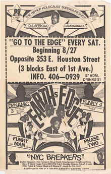Earth's Edge flyer, Aug. 27, 1983