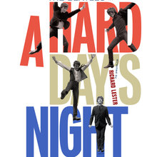 <cite>A Hard Day's Night</cite> (Criterion Collection rejected design)