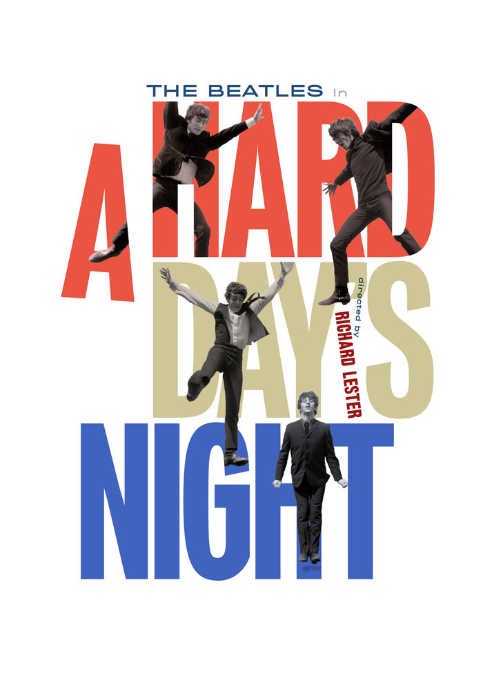 A Hard Day's Night (Criterion Collection rejected design)