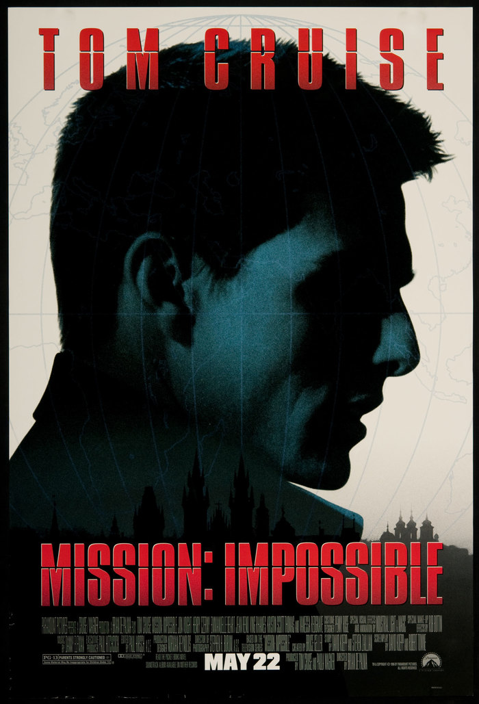 Mission: Impossible (1996) posters 1
