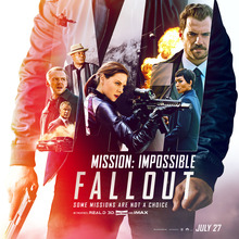 <cite>Mission: Impossible – Fallout</cite> (2018) movie posters