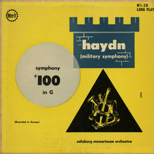 <cite>Symphony #100 in G</cite> by Haydn (Merit Records)