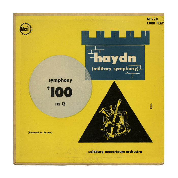 Symphony #100 in G by Haydn (Merit Records)