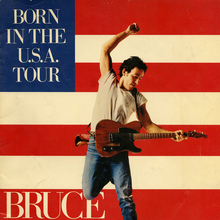 <cite>Born In The U.S.A.</cite> tour program