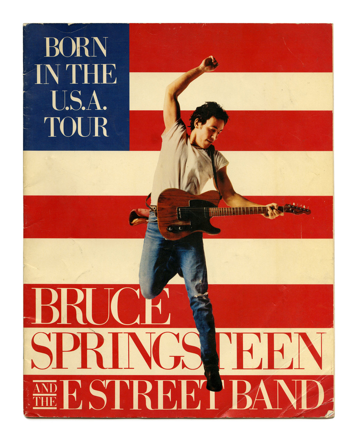 Born In The U.S.A. tour program