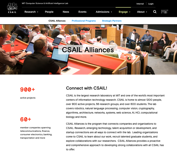 CSAIL website 3