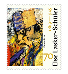 Else Lasker-Schüler stamp