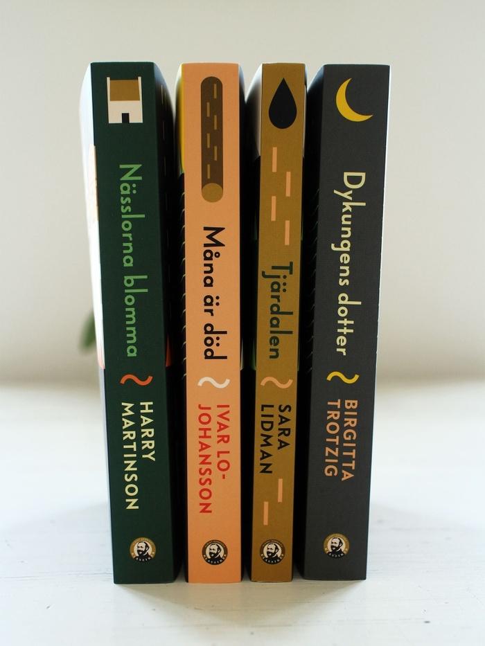 Klassiker book series, Albert Bonniers Förlag 2