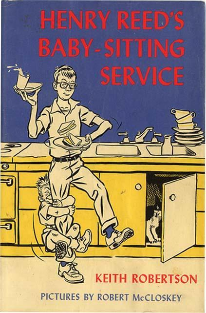 Henry Reed's Baby-Sitting Service, first edition by Viking, 1966.