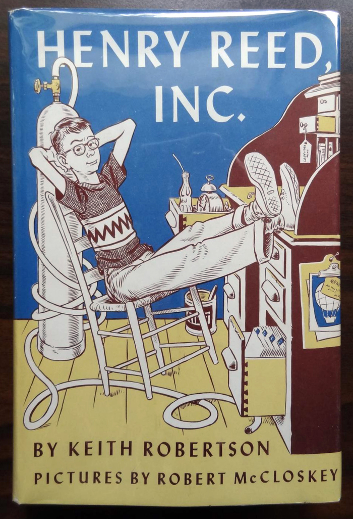 Henry Reed, Inc., first edition by Viking, 1958.