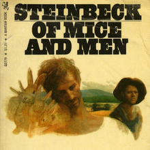 <cite>Of Mice And Men</cite> – John Steinbeck (Bantam)