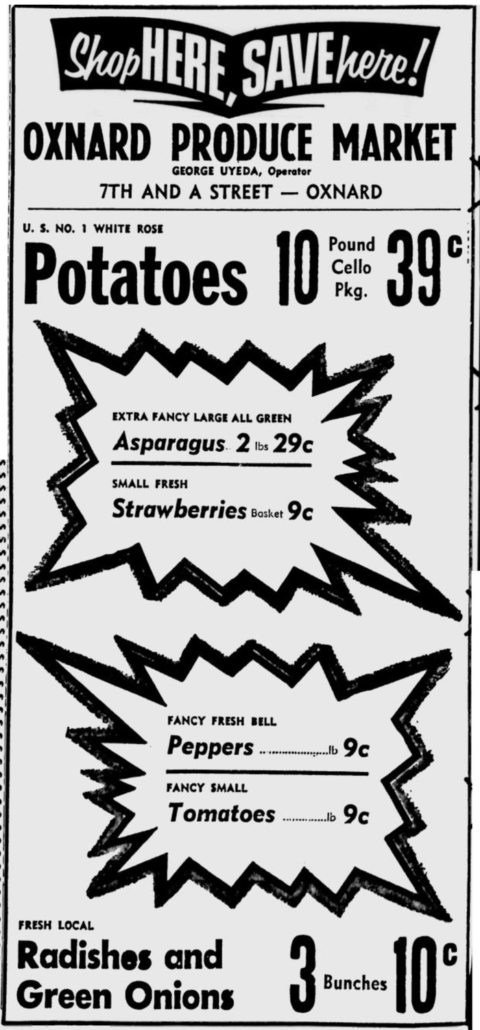 Grocery ads in Oxnard Press-Courier 6