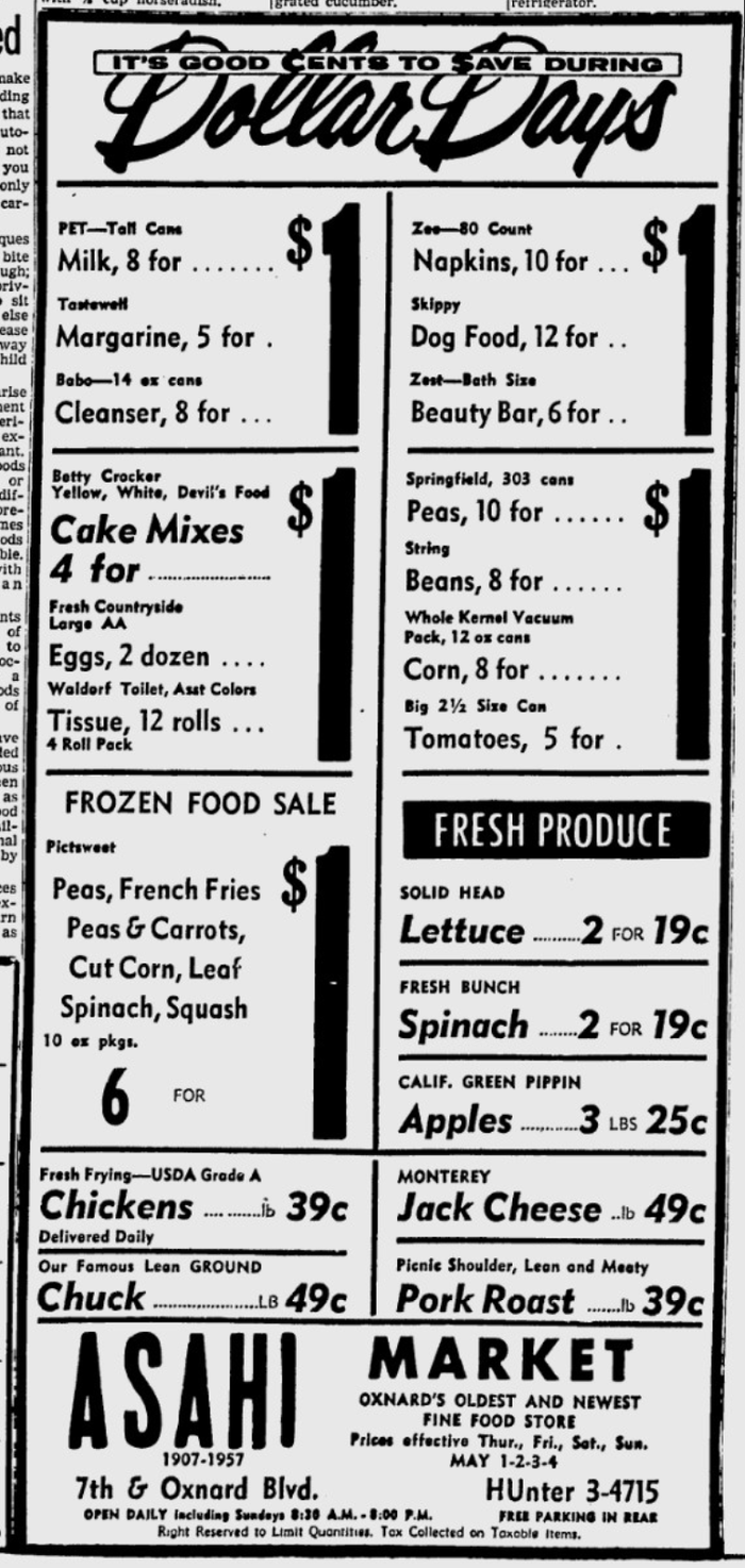 Grocery ads in Oxnard Press-Courier 7