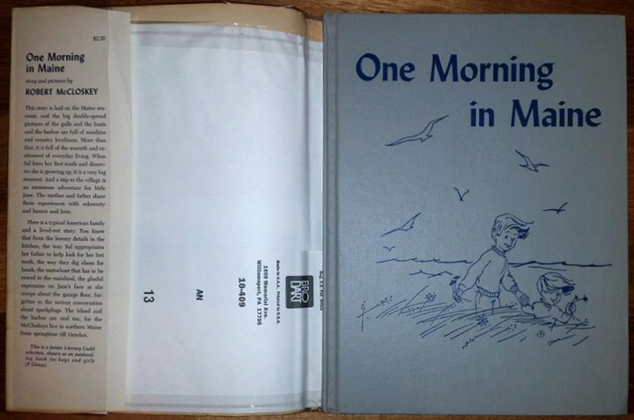 Cover of the Junior Literary Guild edition