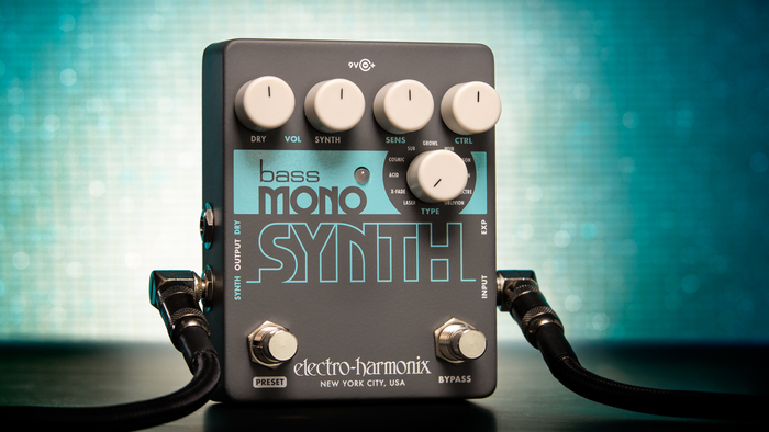 EHX Mono Synth effect pedal 2