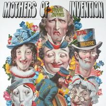 Frank Zappa's Mothers of Invention – <cite>Total Music Theatre </cite>poster