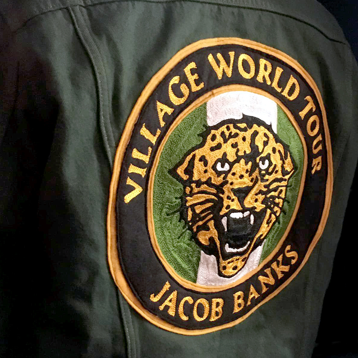 Jacob Banks – Village World Tour clothing 2