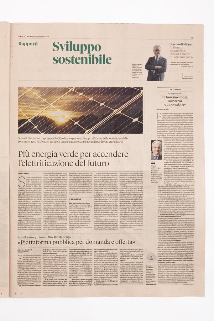 A Il Sole 24 Ore internal page