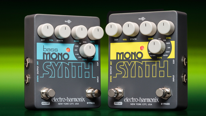 EHX Mono Synth effect pedal 1