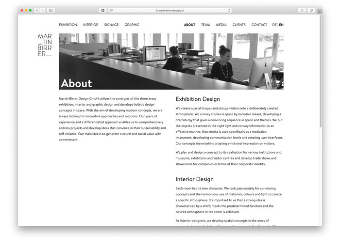 Martin Birrer Design 3