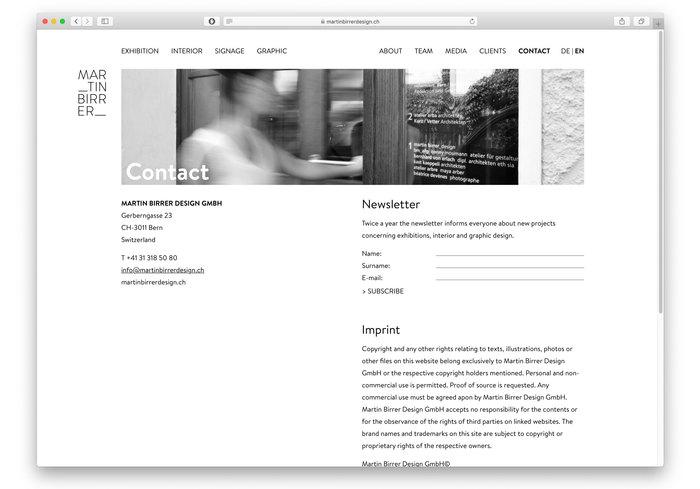 Martin Birrer Design 5