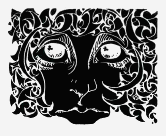 Early version of the Ram's Head, used without wordmark in a c.1971 ad