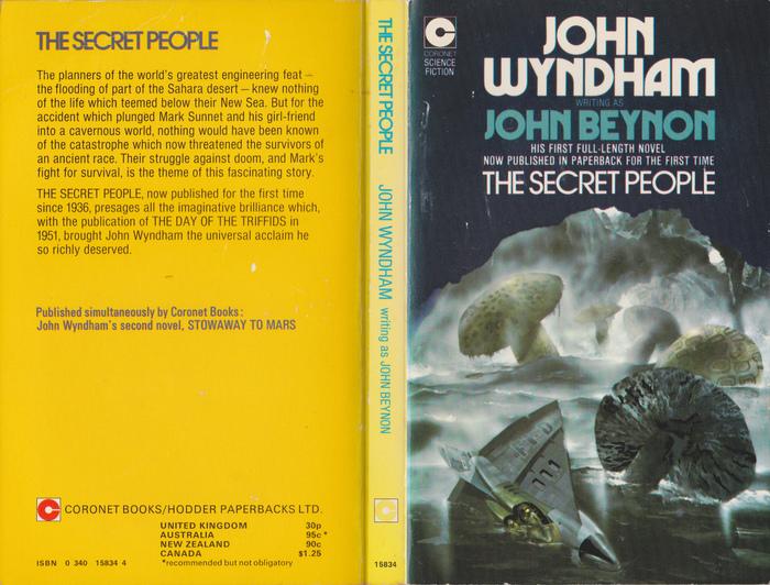 John Wyndham paperbacks (Coronet) 2