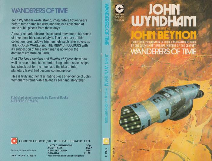 John Wyndham paperbacks (Coronet) 3