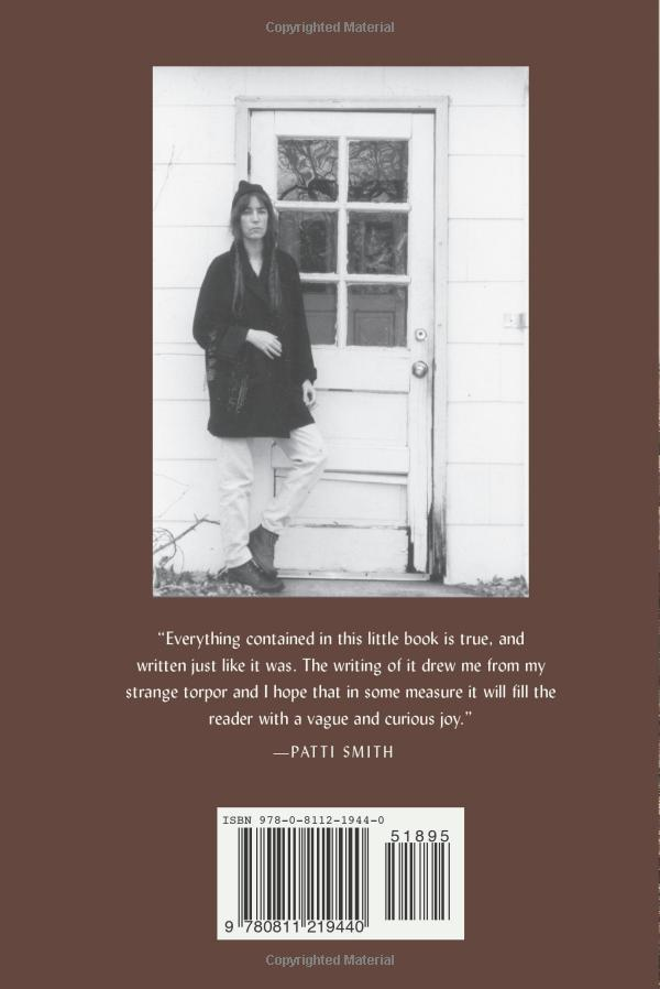Woolgathering by Patti Smith (2011 New Directions edition) 2