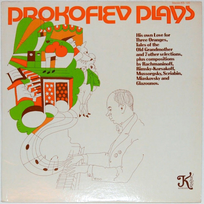 Prokofiev Plays (Klavier Records)