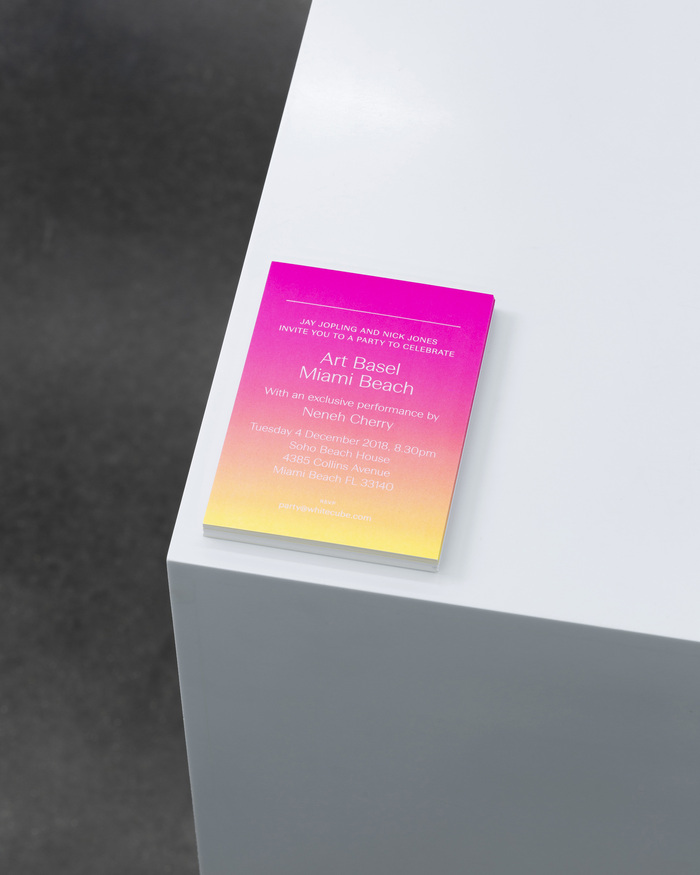 White Cube identity (2019) 1