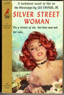 <cite>Silver Street Woman</cite> by Les Savage, Jr. (Cardinal)
