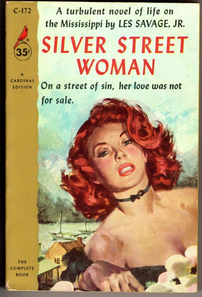 Silver Street Woman by Les Savage, Jr. (Cardinal) 1