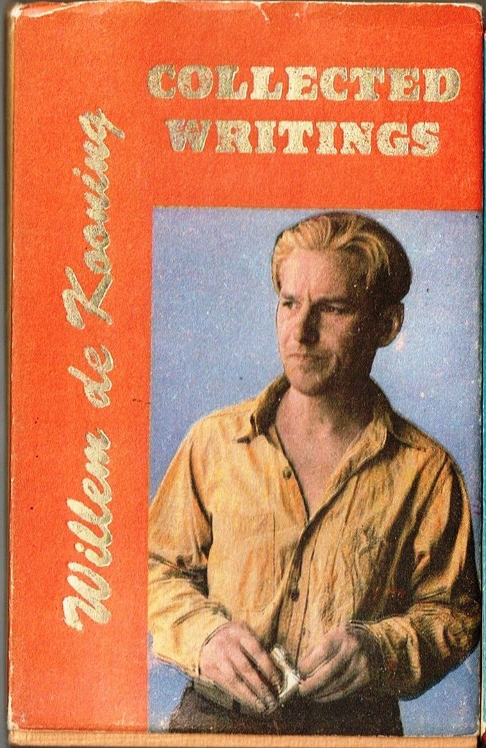 #14, Collected Writings by Willem de Kooning (1988)