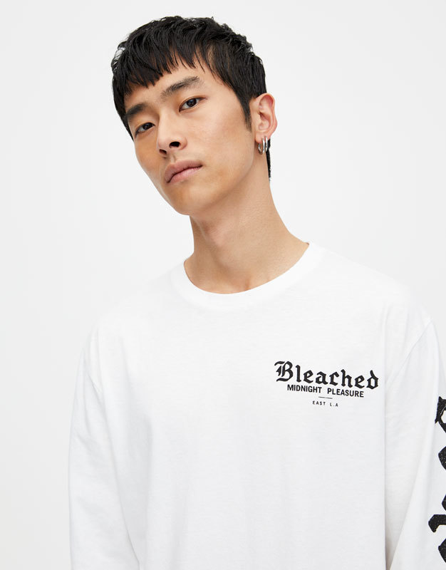 """Pull&Bear """"Bleached"""" and """"NEXT"""" shirts 2"""