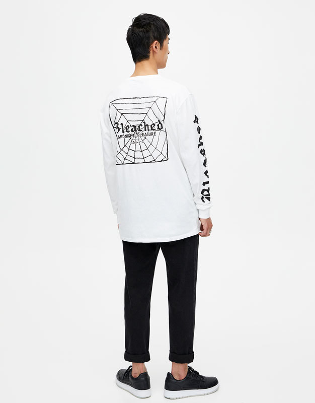 """Pull&Bear """"Bleached"""" and """"NEXT"""" shirts 3"""