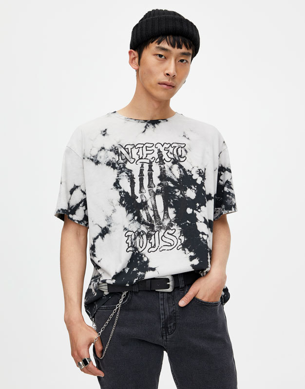 "Pull&Bear ""Bleached"" and ""NEXT"" shirts 5"