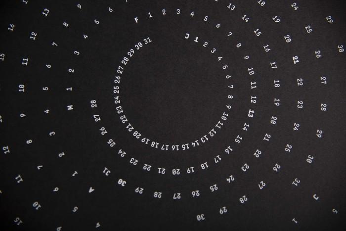 Circular Calendar 3