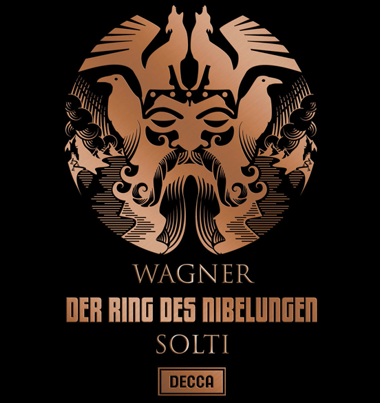 Collector's edition limited to 7,000 copies, featuring four bound books in LP format in double cardboard slipcase. Issued on 17 September 2012 on the occasion of Richard Wagner's 200th and Sir Georg Solti's 100th birthday.