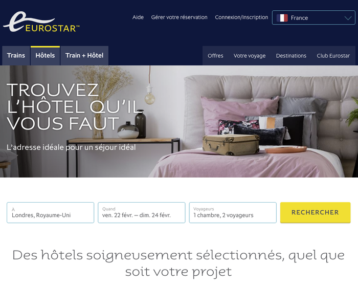 French version of the website