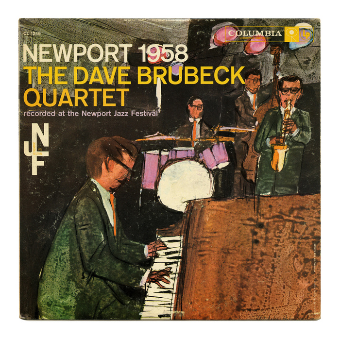 The Dave Brubeck Quartet, CL 1249, 1959.