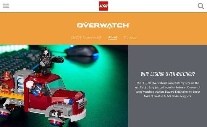 LEGO Overwatch 3