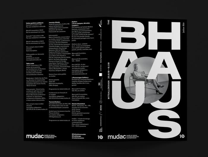 The Bauhaus #itsalldesign, mudac 2