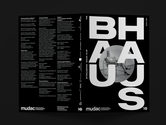 The Bauhaus #itsalldesign, mudac 2