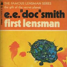 "E.E. ""Doc"" Smith's <cite>Lensman</cite> series (Pyramid)"