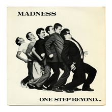 Madness – <cite>One Step Beyond...</cite> album art