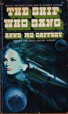 <cite>The Ship Who Sang</cite> by Anne McCaffrey
