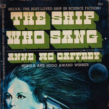 <cite>The Ship Who Sang</cite> – Anne McCaffrey