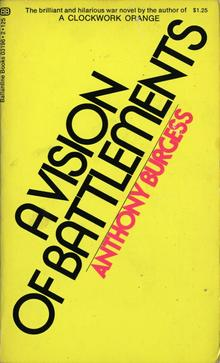 Anthony Burgess paperbacks (Ballantine Books)